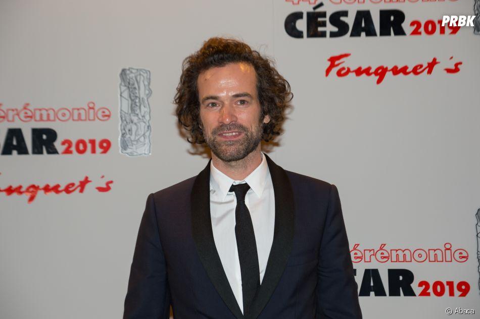 Romain Duris sur le tapis rouge des César 2019 le 22 février à Paris