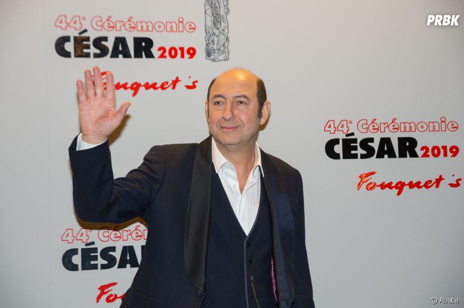Kad Merad sur le tapis rouge des César 2019 le 22 février à Paris