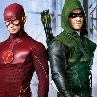 Arrow : la série annulée, Grant Gustin (The Flash) rend hommage à Stephen Amell