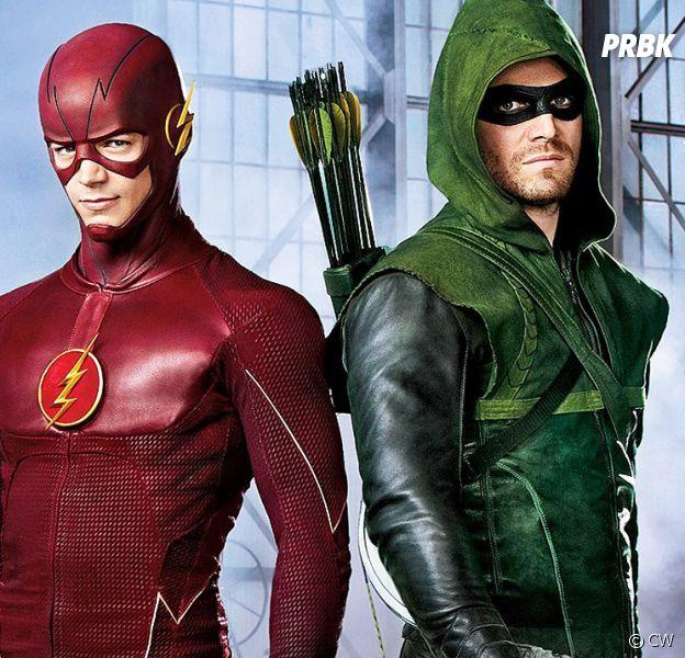 Arrow : la série annulée, Grant Gustin (The Flash) rend hommage à Stephen Amell