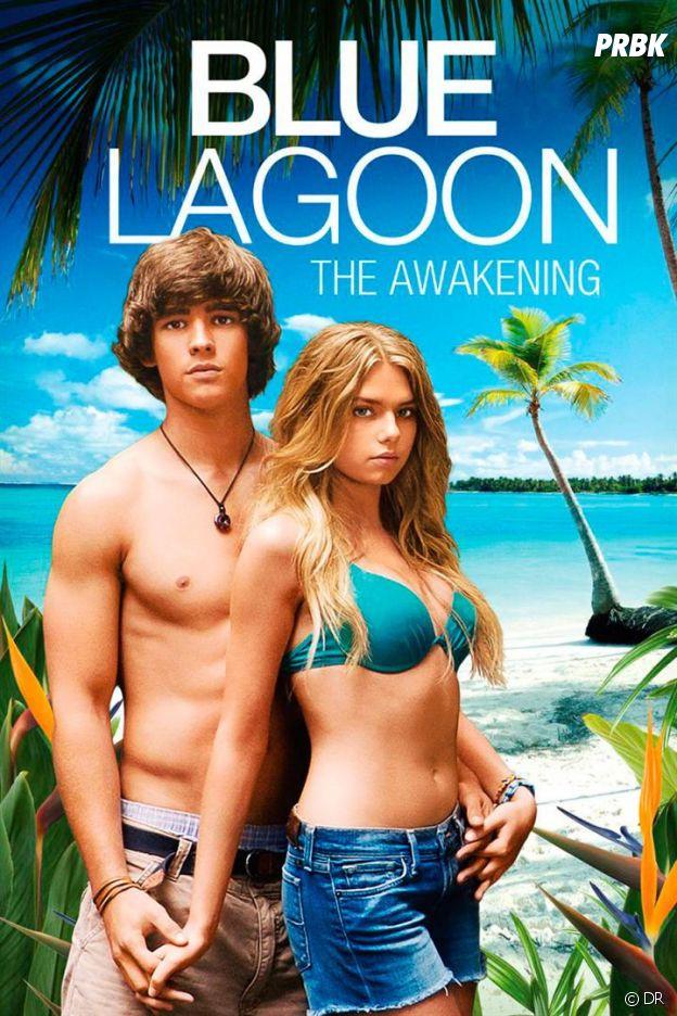 Indiana Evans et Brenton Thwaites dans Blue Lagoon