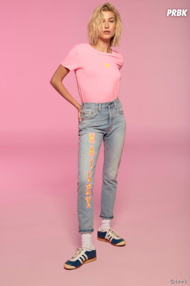Hailey Baldwin star de la nouvelle campagne Levi's : la femme de Justin Bieber en mode festival.