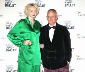 Gwendoline Christie et son compagnon Giles Deacon