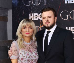 John Bradley et sa compagne Rebecca April May