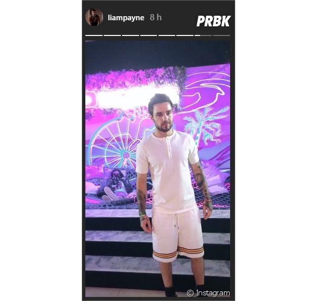 Liam Payne au festival Coachella 2019