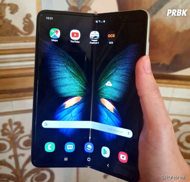 Samsung Galaxy Fold : prise en main du smartphone pliable, voilà ce que PRBK en pense !