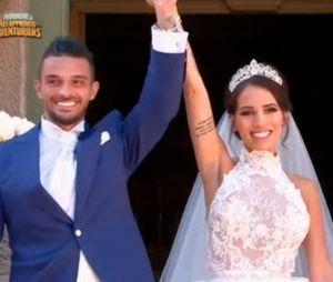 Julien Tanti et Manon Marsault : pleurs, stress, joie... revivez leur mariage à l'église