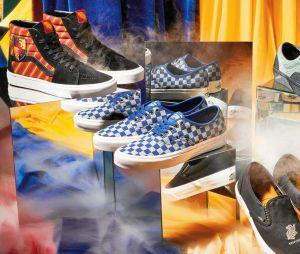 Vans x Harry Potter : la collection de sneakers, vêtements et accessoires à l'effigie des maisons de Poudlard.
