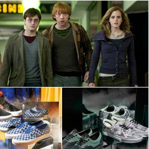 Vans x Harry Potter : choisis tes sneakers en fonction de ta maison de Poudlard préférée