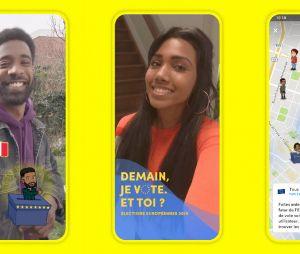 Europénnes: Snapchat lance de nouvelles options pour faire voter les jeunes