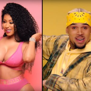 "Clip ""Wobble Up"" : Chris Brown, Nicki Minaj et G-Eazy s'éclatent en pleine fiesta"