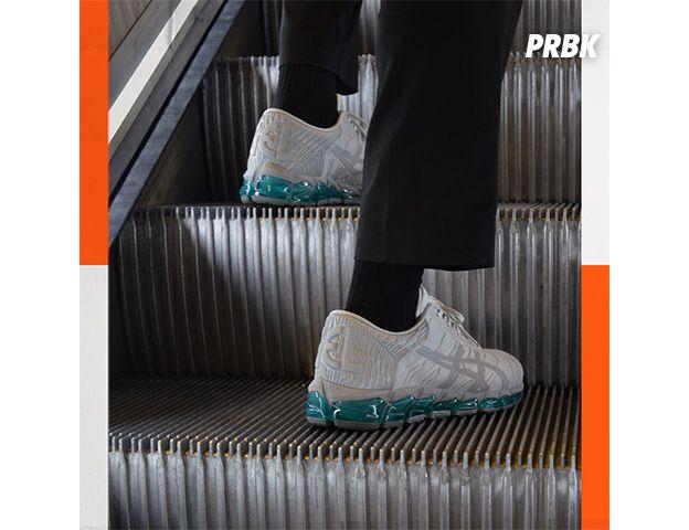 Courir x Asics : la paire de sneakers ASICS GEL-Quantum 360 5 inspirée du métro parisien.