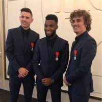 Les Bleus Chevaliers de la Légion d'honneur : Paul Pogba et Adil Rami font marrer les internautes