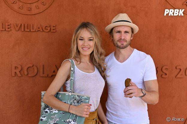 Elodie Fontan et Philippe Lacheau ensemble à Roland Garros 2019