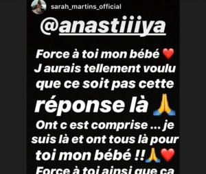 Anastasiya (Les Anges 11) soutenue par sa pote Sarah Martins