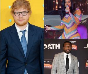 """No. 6 Collaborations Project"" : Ed Sheeran invite 50 Cent, Eminem et Cardi B sur son album"
