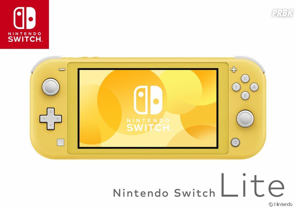 La Nintendo Switch Lite jaune disponible le 20 septembre 2019