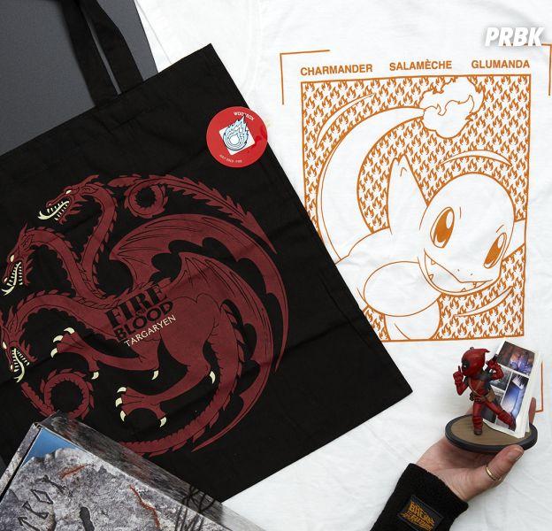 Game of Thrones, Deadpool, Pokémon... Unboxing de la Wootbox Fire
