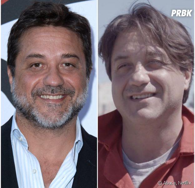 La Casa de Papel saison 3: Enrique Arce (Arturo) métamorphosé depuis la saison 1