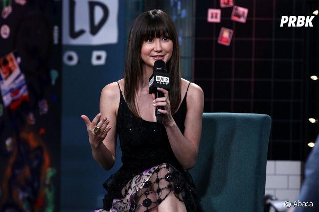 Kimiko Glenn los d'une interview télévisée