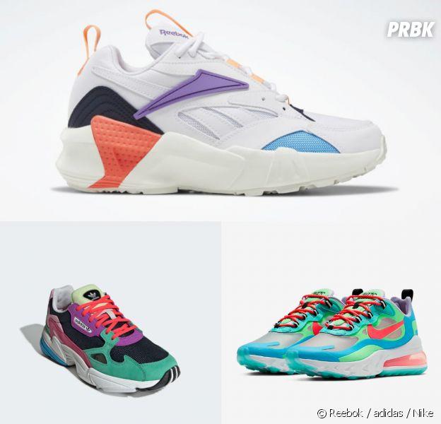 Reebok, adidas, Nike Nos 7 paires de sneakers coups de