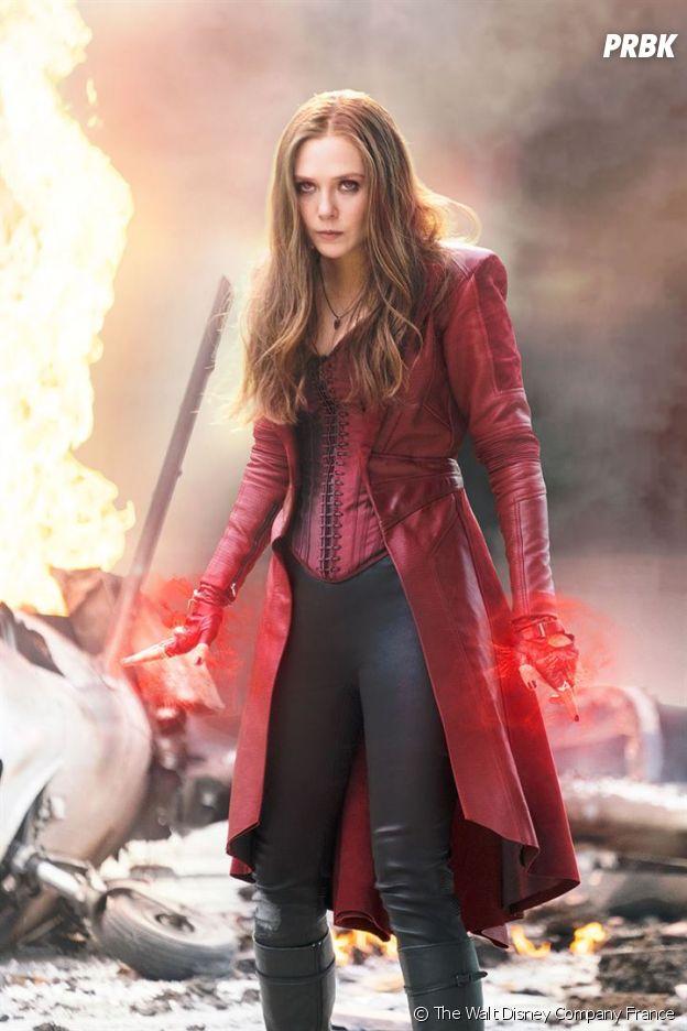 Doctor Strange 2  Elizabeth Olsen (la Sorcière Rouge) au casting du film
