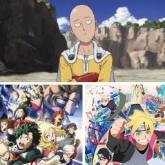One-Punch Man, My Hero Academia, Boruto... Top 10 des animés les plus regardés en France