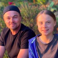 "Leonardo DiCaprio rencontre Greta Thunberg : ""C'est l'un des leaders de notre époque"""
