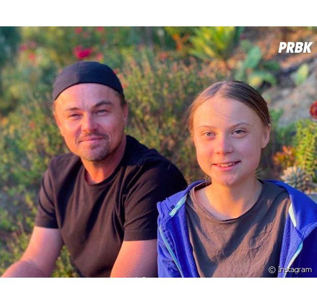 Leonardo DiCaprio honoré de rencontrer Greta Thunberg : il dit ce qu'il pense de la militante