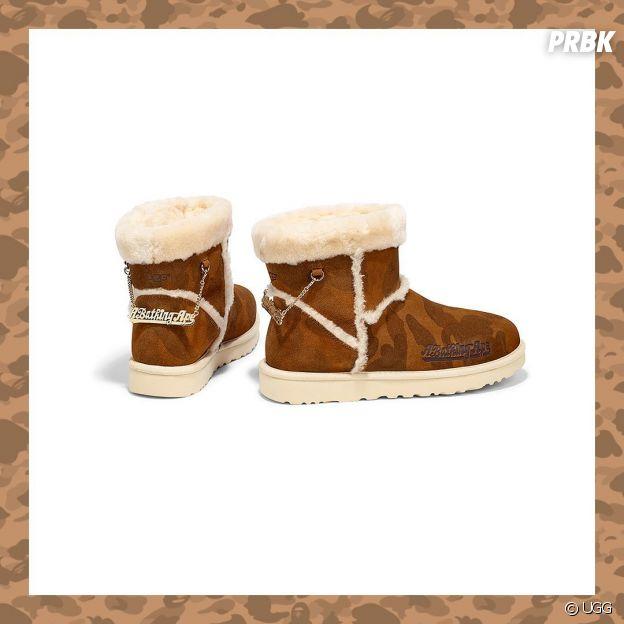 UGG x BAPE : Lil Wayne ambassadeur de la collaboration street parfaite pour cet hiver