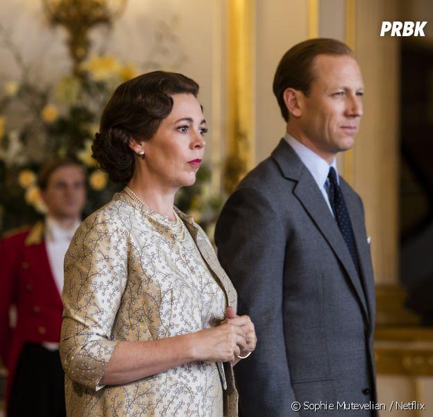 The Crown saison 3 : Olivia Colman et Tobias Menzies