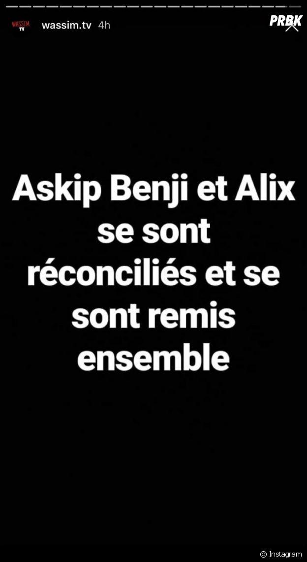 Benjamin Samat et Alix de nouveau en couple ? Les candidats des Marseillais aux Caraïbes se seraient réconciliés