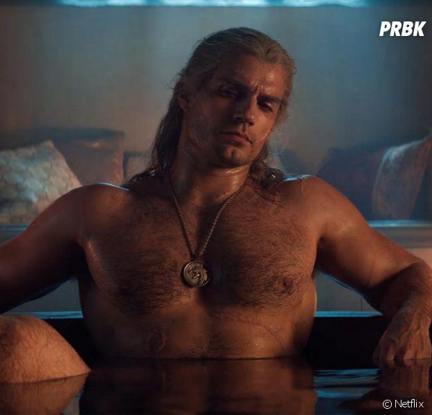 The Witcher saison 1 : Henry Cavill torse nu, il a souffert pour être au top