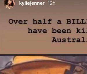 Kylie Jenner en pleine polémique après son don d'1 million de dollars pour l'Australie
