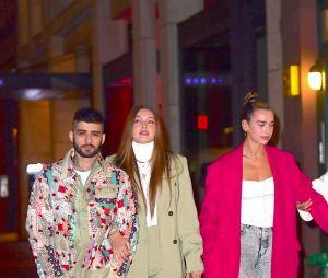 Zayn Malik et Gigi Hadid dans les rues de New York avec Bella Hadid et Dua Lipa