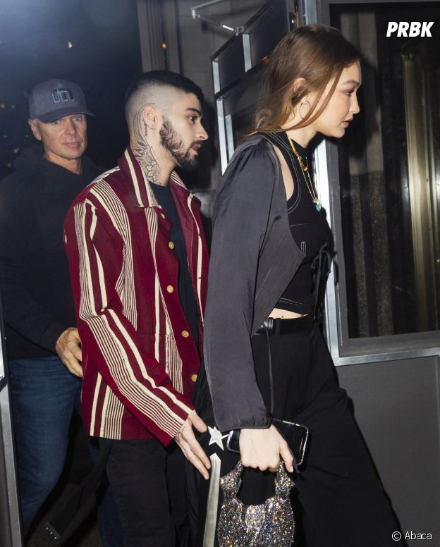 Gigi Hadid et Zayn Malik aperçus ensemble le 12 janvier 2020