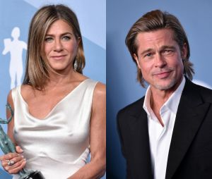 Jennifer Aniston et Brad Pitt se retrouvent et enflamment la toile