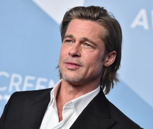 Brad Pitt sur le tapis-rouge des SAG Awards 2020 le 19 janvier à Los Angeles