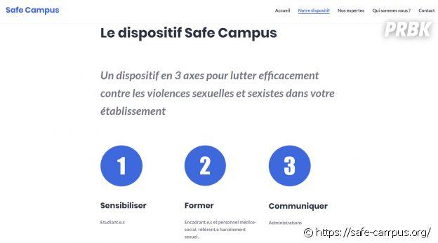 Safe Campus, 1er outil contre les violences sexistes dans les universités et grandes écoles