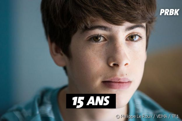 Les Bracelets rouges : quel âge à Marius Blivet (Côme) ?