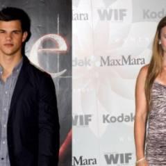 Taylor Lautner ... Lily Collins, sa nouvelle copine ne le lâche plus
