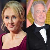 Harry Potter : J.K. Rowling rend hommage à Alan Rickman (Rogue) dans des tweets émouvants