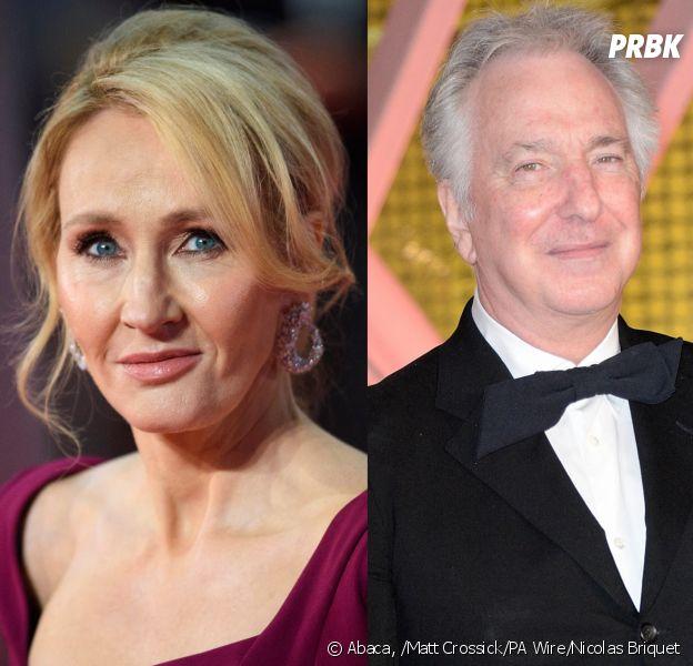 Harry Potter : J.K. Rowling rend hommage à Alan Rickman qui jouait Severus Rogue, et ses tweets ont ému beaucoup d'internautes