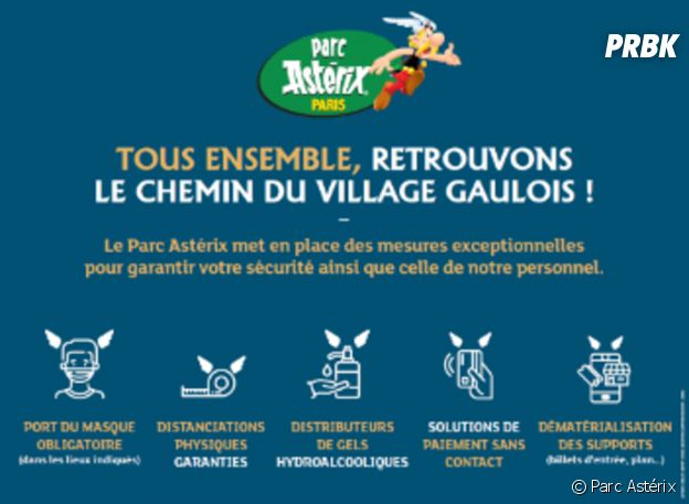 Parc Astérix : voici les nouvelles mesures sanitaires