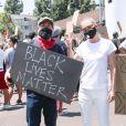 Grey's Anatomy : Ellen Pompeo et T.R. Knight à une manifestation contre le racisme