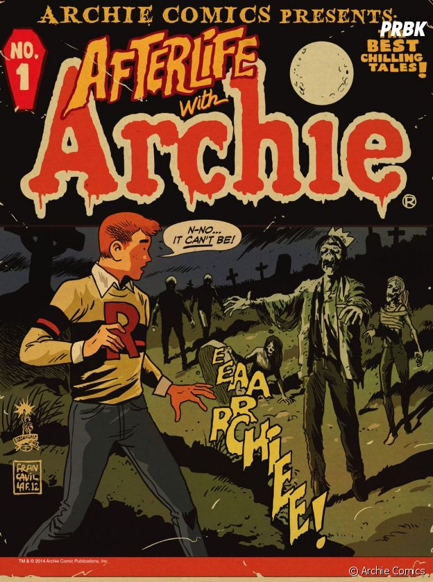 Archie rencontre les zombies dans le comics Afterlife with Archie