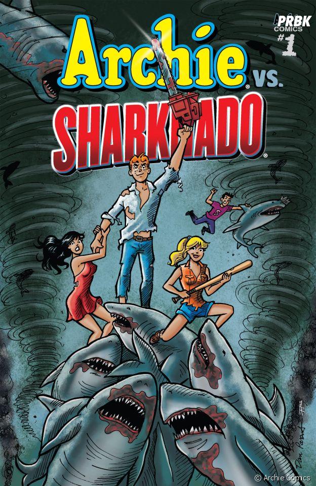 Archie rencontre Sharknado dans les comics