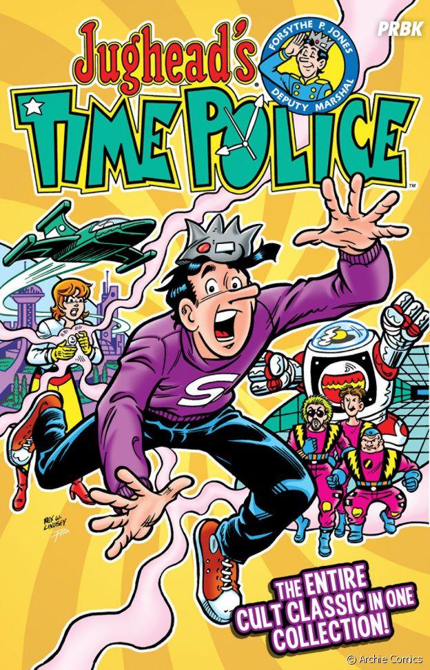 Jughead voyage dans le temps dans Jughead's Time Police