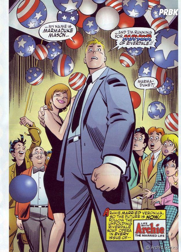 Moose devient maire de Riverdale dans les comics