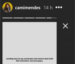 Camila Mendes réagit aux fausses accusations d'agressions sexuelles contre les acteurs de Riverdale